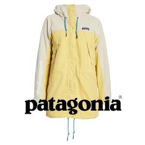 Patagonia Yellow Skyforest Parka